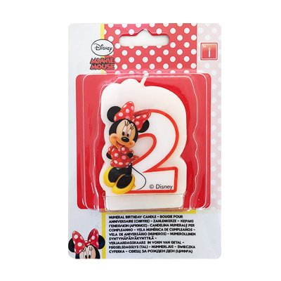 Wholesaler of Vela número 2 Minnie Mouse