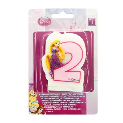 Wholesaler of Vela número 2 Rapunzel Princesas Disney