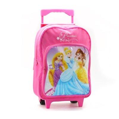 Mochila Trolley 34cm Princesas Disney