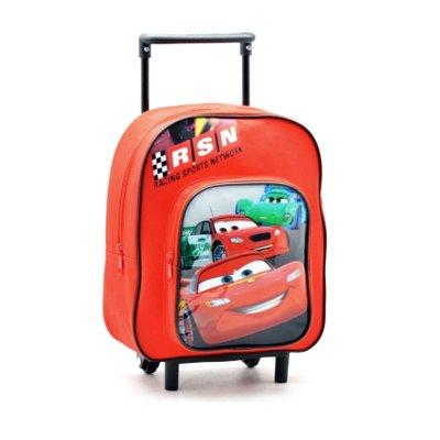 Mochila Trolley infantil Cars 30cm