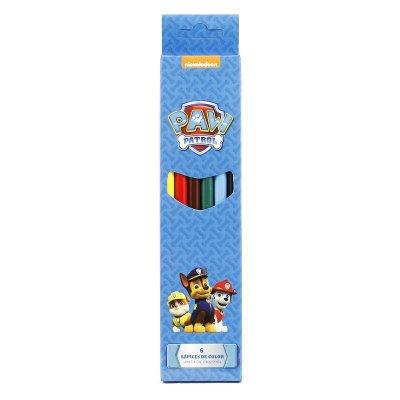6 lápices de colores Paw Patrol (La Patrulla Canina)
