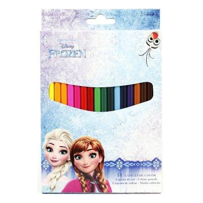 18 lápices de colores Frozen