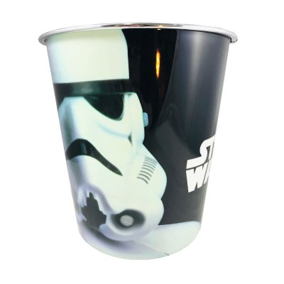 Papelera plástico Stormtrooper Star Wars 22cm