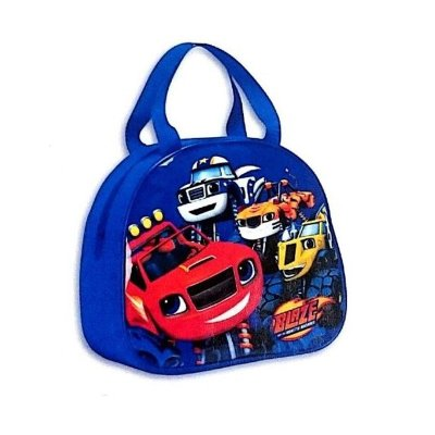Bolso alto portameriendas con asas Blaze and the Monster Machines