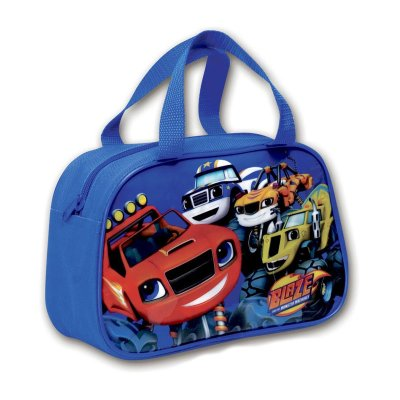 Bolso bajo portameriendas con asas Blaze and the Monster Machines