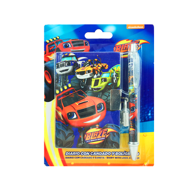Wholesaler of Diario con candado y bolígrafo Blaze and the Monster Machines