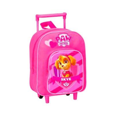 Mochila Trolley infantil Paw Patrol Skye rosa 30cm