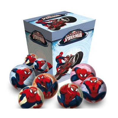 Mini pelotas 6cm Spiderman Marvel