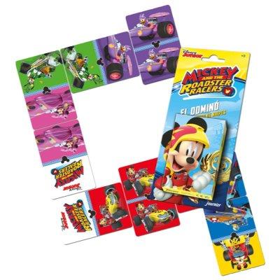 Wholesaler of Baraja de cartas infantiles dominó Mickey Roadster Races