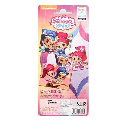 Wholesaler of Baraja de cartas infantiles Shimmer and Shine