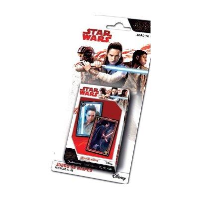 Baraja de cartas infantiles juego de napies Star Wars
