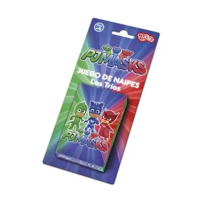 Baraja de cartas infantiles juego de naipes PJ Masks