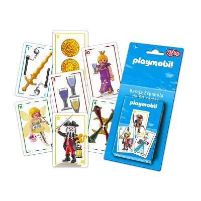 Wholesaler of Baraja de 50 cartas española Playmobil