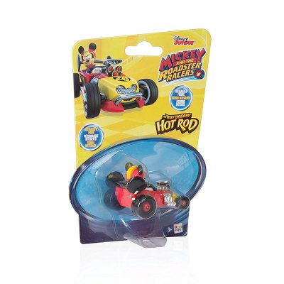 Vehículo Mickey and The Roadster Racers 1:64 Hot Rod - rojo