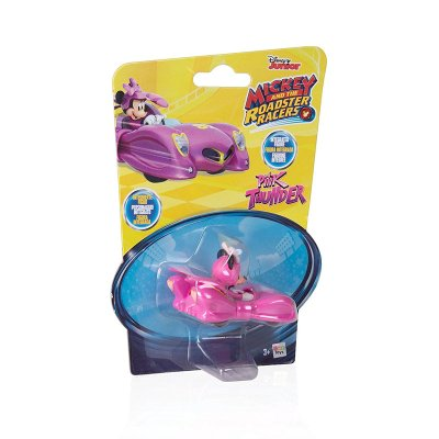 Vehículo Mickey and The Roadster Racers 1:64 Pink Thunder - rosa