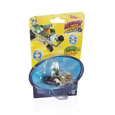 Vehículo Mickey and The Roadster Racers 1:64 Turbo Tubster