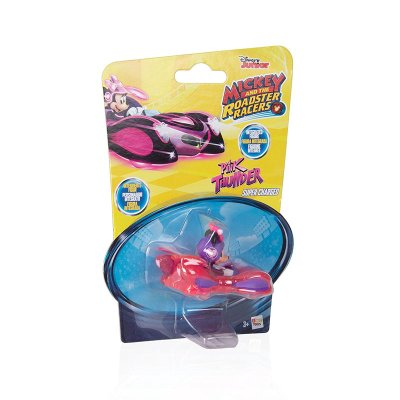 Vehículo Mickey and The Roadster Racers 1:64 Pink Thunder