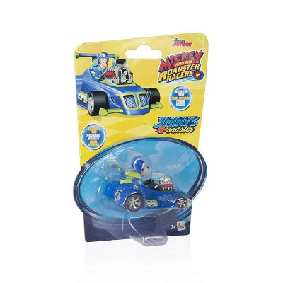 Vehículo Mickey and The Roadster Racers 1:64 Jiminys Roadster