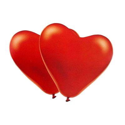 Set 5 globos corazones San Valentín