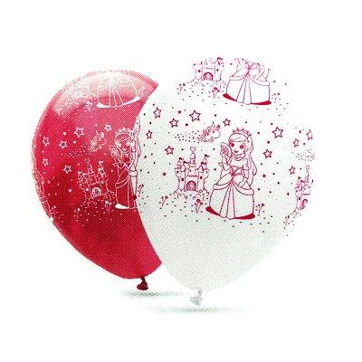 Caja 30 bolsas globos de Princesas