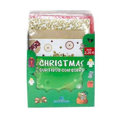 Expositor tarjetas c/sobres Navidad