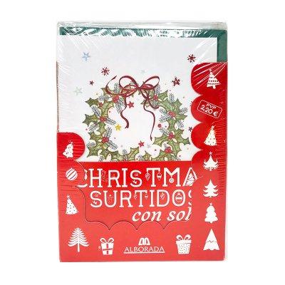 Expositor tarjetas Navidad c/sobres Fantasía