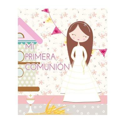 Libro Mi primera comunión princesa