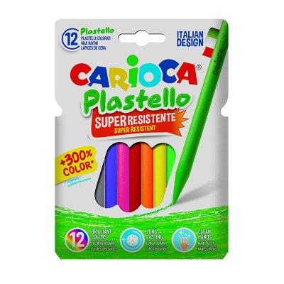 Wholesaler of Set de 12 lápices cera Carioca Plastello