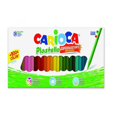 Wholesaler of Set de 30 lápices cera Carioca Plastello