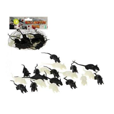 Ratas de plástico Halloween