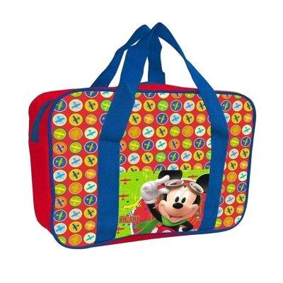 Bolso alto portameriendas con asas Mickey