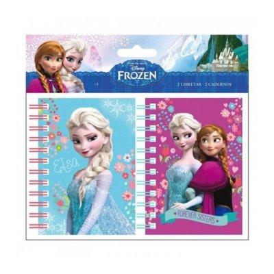 Set de 2 libretas Frozen Disney