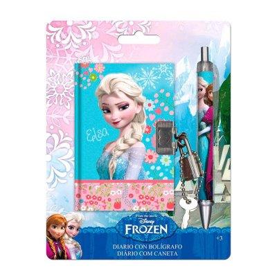 Wholesaler of Agenda con candado y bolígrafo Frozen