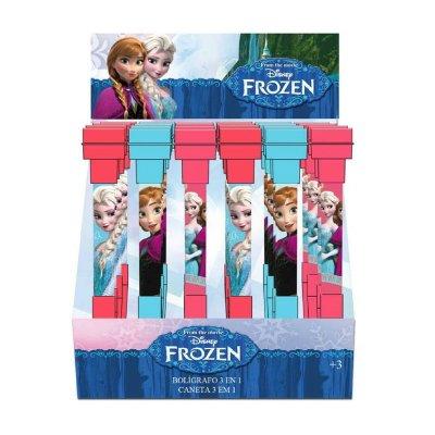 Bolígrafo 3 en 1 Frozen