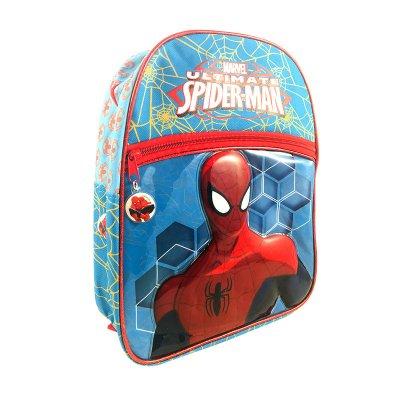 Mochila 3D 31cm con cremallera frontal Ultimate Spiderman