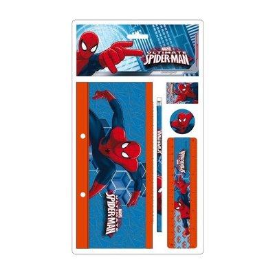 Wholesaler of Estuche plano + 4 piezas Ultimate Spiderman