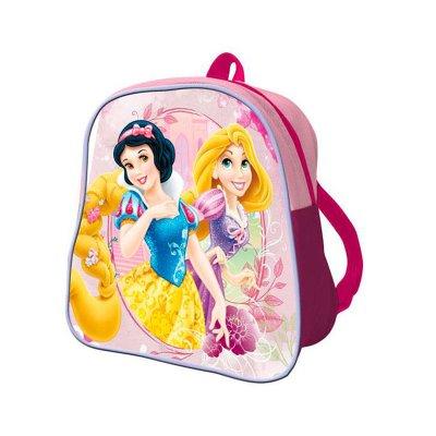 Mochila sencilla 26cm Princesas Disney