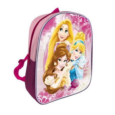 Mochila infantil Princesas Disney 27cm