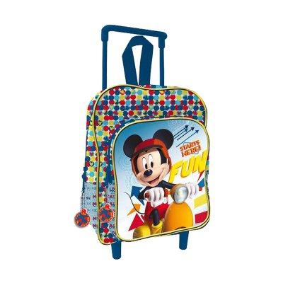 Mochila Trolley infantil Mickey 33cm
