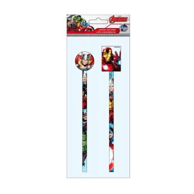 Distribuidor mayorista de Lápices con goma 2 piezas Los Vengadores