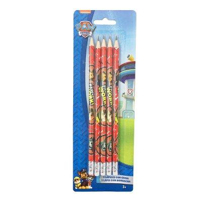 Wholesaler of Set 5 lápices con goma Paw Patrol (La Patrulla Canina)