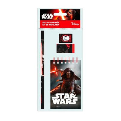 Libreta + 3 piezas Star Wars Episodio VII