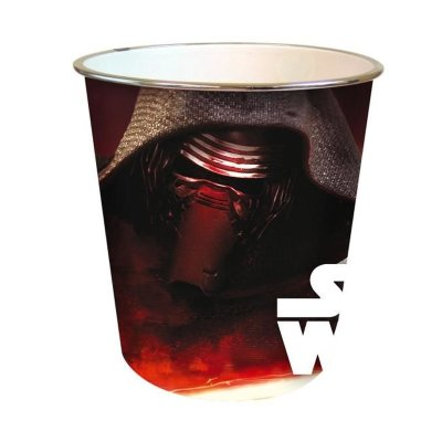 Papelera plástico 22x21cm Star Wars Episodio VII