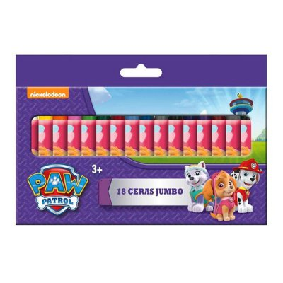 Wholesaler of 18 ceras jumbo plastidecor Paw Patrol (La Patrulla Canina)