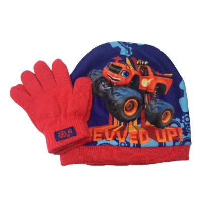 Set gorro guantes Blaze y Los Monster Machine