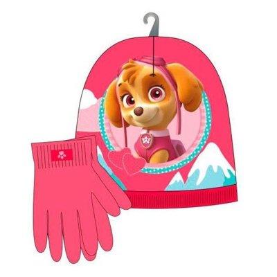 Set guantes gorro La Patrulla Canina Skye (Paw Patrol)