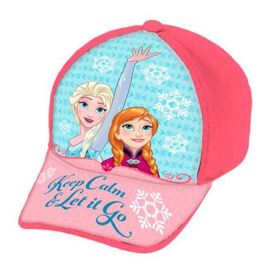 Gorra niña Frozen Keep Calm Let it Go