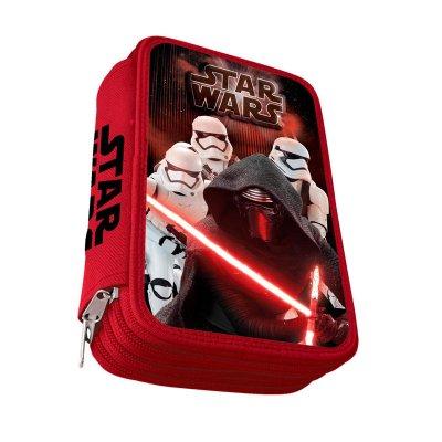 Estuche relleno 3 cremalleras Darth Vader Star Wars