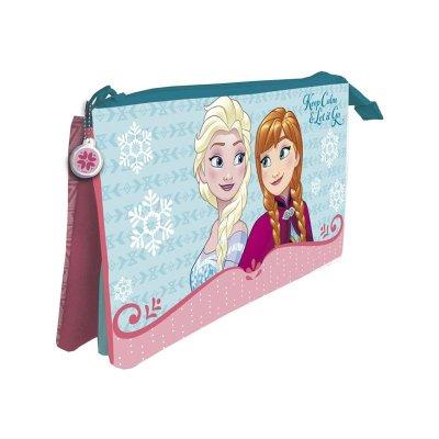 Wholesaler of Estuche 3 compartimentos 22X12cm Frozen Disney