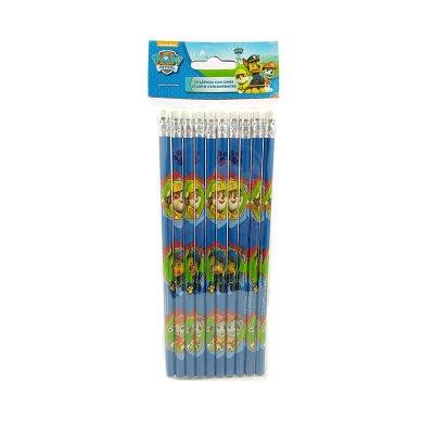 Set 10 lápices con goma La Patrulla Canina (Paw Patrol)